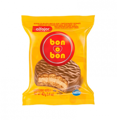 BON O BON alfajor chocolate x40g