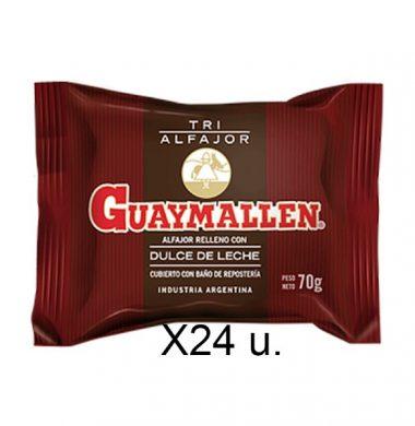 GUAYMALLEN alfajor triple chocolate x70g