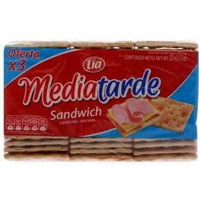 MEDIATARDE galletitas sandwich x321g