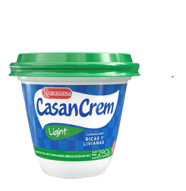 CASANCREM queso crema light x290g