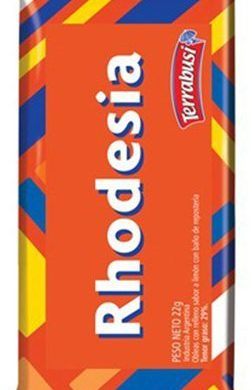 RHODESIA oblea con chocolate x22g