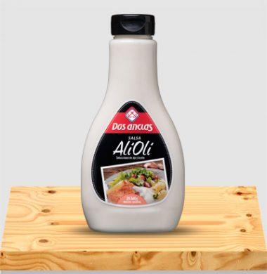 DOS ANCLAS salsa alioli x360g.