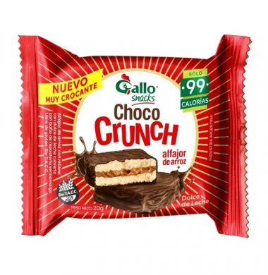 GALLO choco crunch x20g