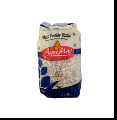 AGROMAR maiz pisado bco x400g