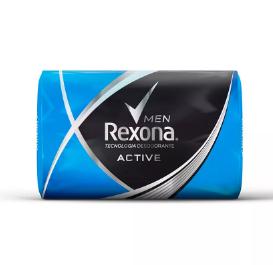 REXONA  Jabon de tocador  active x125g