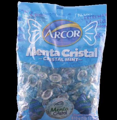 ARCOR caramelo menta cristal 810g