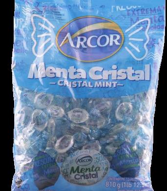 ARCOR caramelos menta cristal 810g