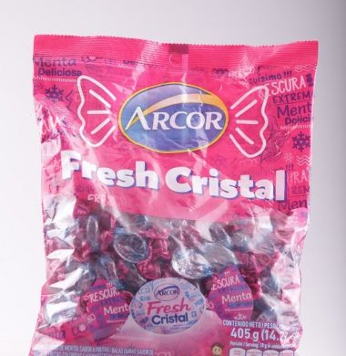 ARCOR caram. fresh cristal x405g
