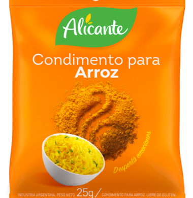 ALICANTE condimento arroz x25g