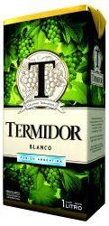TERMIDOR vino blanco tetra brick x1Lt