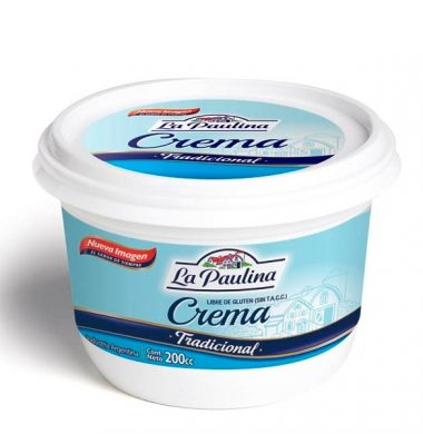 PAULINA crema leche x200g