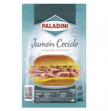 PALADINI Jamon cocido feteado x200g
