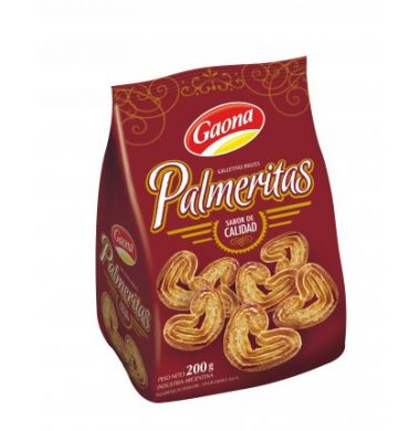 GAONA galletas palmerita x200g