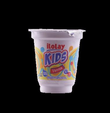 ILOLAY kids postre vainilla x120g