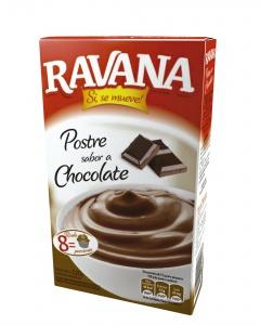 RAVANA postre chocolate x120g