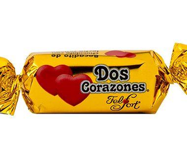 FELFORT chocolate dos corazones x26g