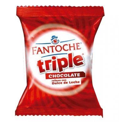 FANTOCHE alfajor triple chocolate x75g