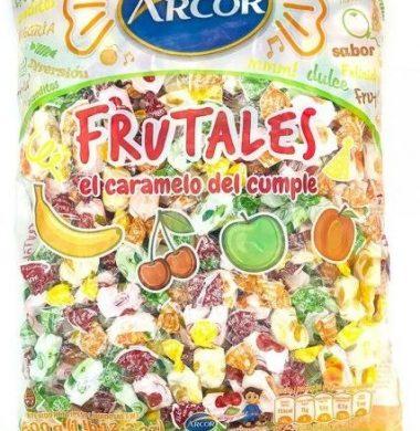 ARCOR caramelos masticables frutales x800g