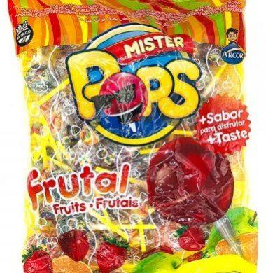 MR.POPS chupetin frutal x50Un.