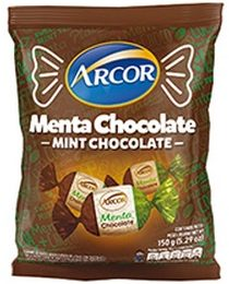 ARCOR caramelos menta chocolate x715g