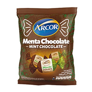ARCOR caramelo Menta chocolate x715g