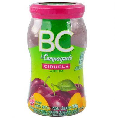 CAMPAGNOLA mermelada B/C ciruela x390g frasco.