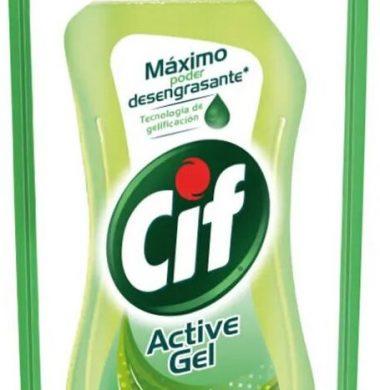 CIF detergente enjuague facil limon verde x450cc doypack