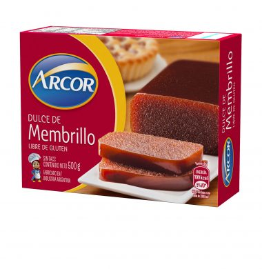 ARCOR membrillo s/tacc x500g