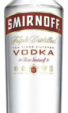 SMIRNOFF vodka x700cc