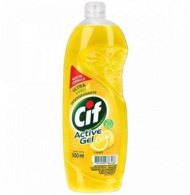 CIF det. act/gel limon x500cc