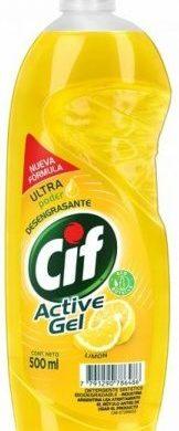 CIF detergente active gel limon x500cc