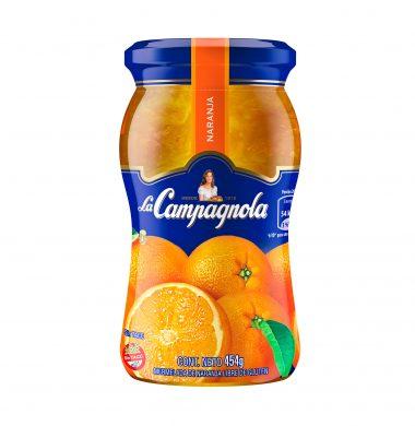 CAMPAGNOLA mermelada  naranja x454g frasco.