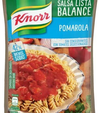 KNORR salsa pomarola doypack x340g