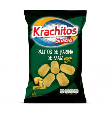 KRACHITOS palitos maiz con queso x65g