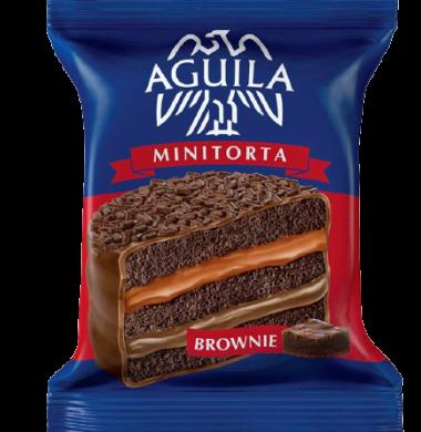 AGUILA alfajor minitorta brownie x74g