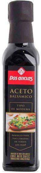 ACETO BALSAMICO DOS ANCLAS 250