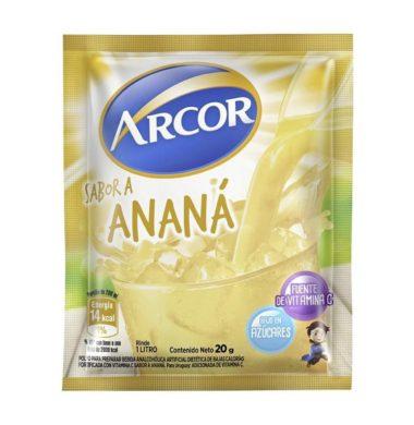 ARCOR jugo anana x18 sobres
