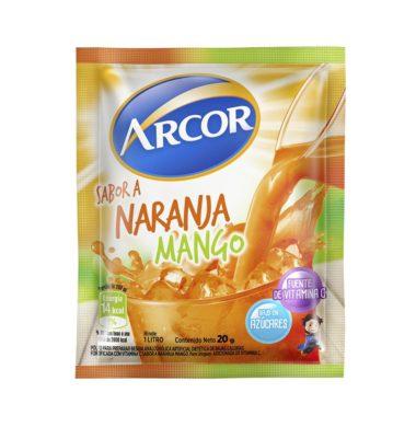 ARCOR jugo nja/mango x18sob.