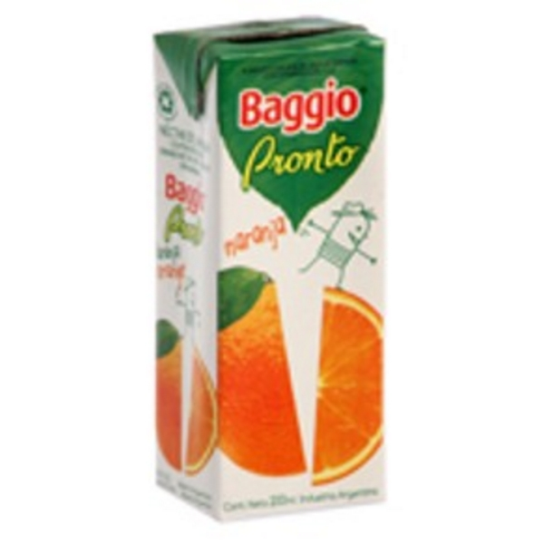 BAGGIO jugo naranja x200cc