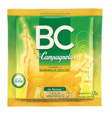 CAMPAGNOLA jugo B/C naranja .dulce x18sob.