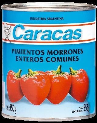 CARACAS morron x750g