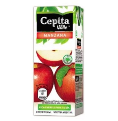 CEPITA jugo manzana x200cc