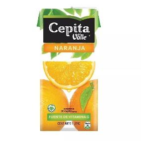CEPITA jugo naranja x1lt.