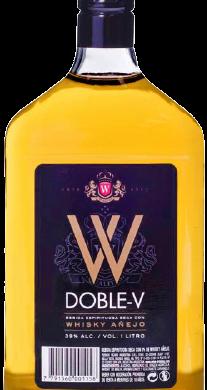 DOBLE W whisky etiqueta negra x1lt.