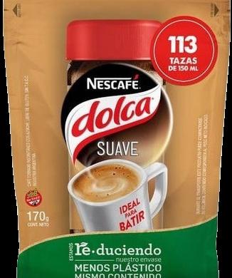 DOLCA cafe suave doy pack x 170g