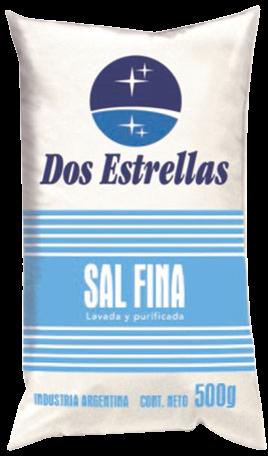 DOS ESTRELLAS sal final x500g
