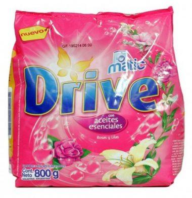 DRIVE matic jabon polvo rosa/lila x800g