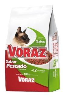 VORAZ alimento gato adulto x500g