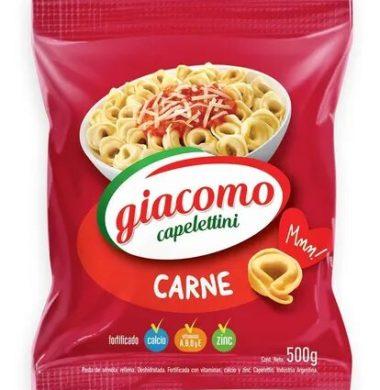 GIACOMO capeletini carne x500g.