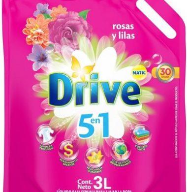 DRIVE jabon liquido doypack rosa/lilas x3lt